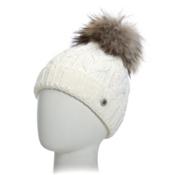 Bogner Fire + Ice Drew 17 Womens Hat, White, medium