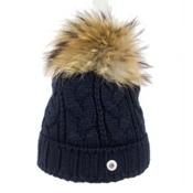 Bogner Fire + Ice Drew 17 Womens Hat, Navy, medium