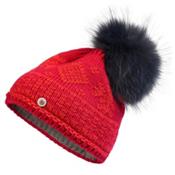 Bogner Fire + Ice Carrie Womens Hat, Red, medium