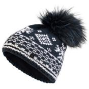 Bogner Fire + Ice Carrie Womens Hat, Navy-White, medium