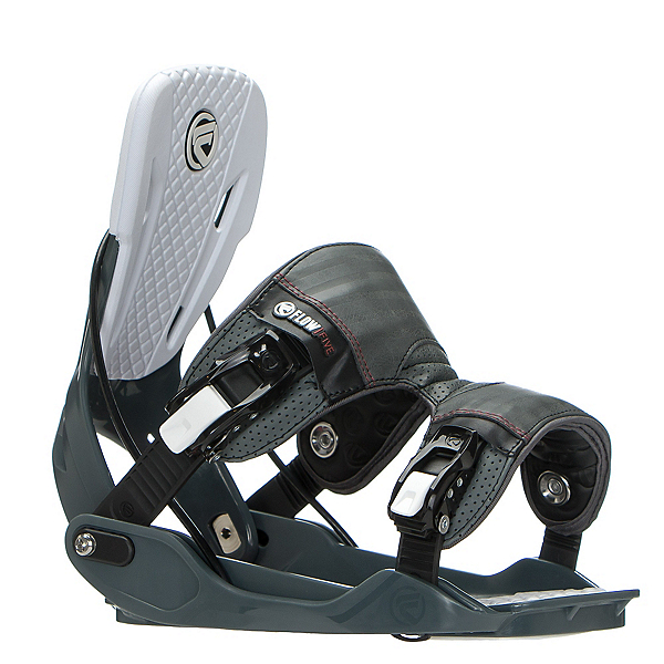 Flow Five Snowboard Bindings, Slate, 600