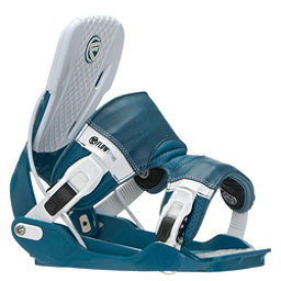 Flow Five Snowboard Bindings, Blue, 256