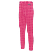 Terramar Thermolator Girls Long Underwear Bottom, Pink Mountain Print, medium