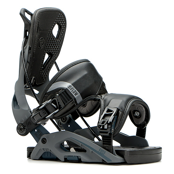 Flow Fuse Snowboard Bindings, Gunmetal, 600