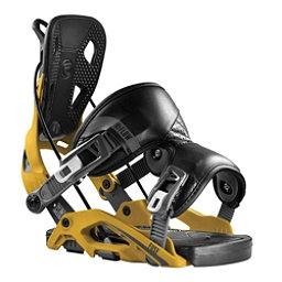 Flow Fuse Snowboard Bindings, Mustard, 256