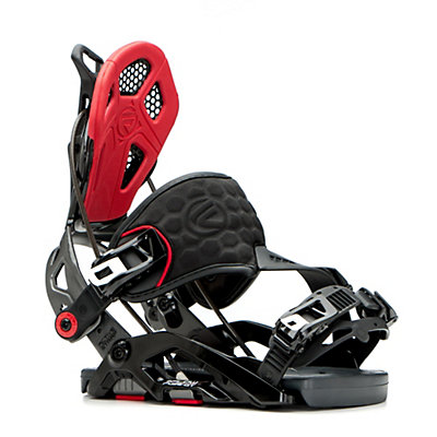Flow Fuse-GT Hybrid Snowboard Bindings 2017, Black-Red, viewer