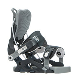 Flow Omni Womens Snowboard Bindings 2017, Gunmetal, 256