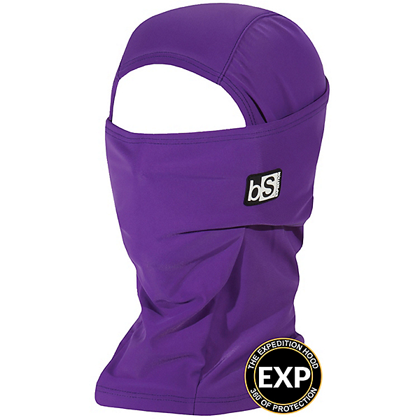BlackStrap The Expedition Hood Balaclava, Deep Purple, 600
