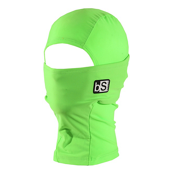 BlackStrap Hood Kids Balaclava, Bright Green, 600