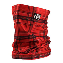 BlackStrap Tube Prints Neck Warmer, Red Plaid, 256