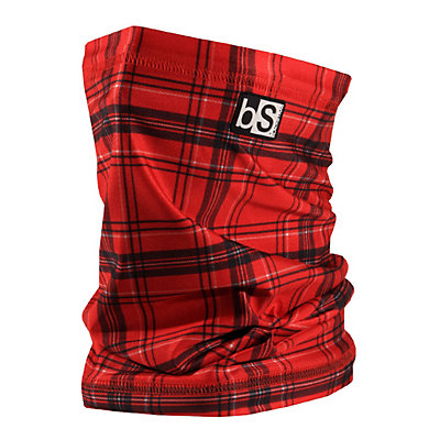 BlackStrap Tube Prints Neck Warmer, Red Plaid, viewer
