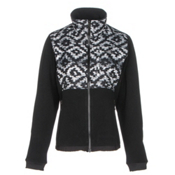 The North Face Denali 2 Womens Jacket, TNF Black D Kat Print-TNF Blac, medium
