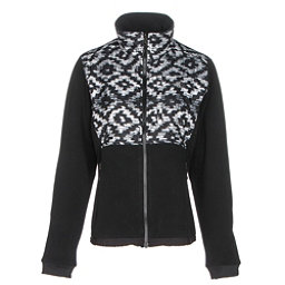 The North Face Denali 2 Womens Jacket (Previous Season), TNF Black D Kat Print-TNF Blac, 256