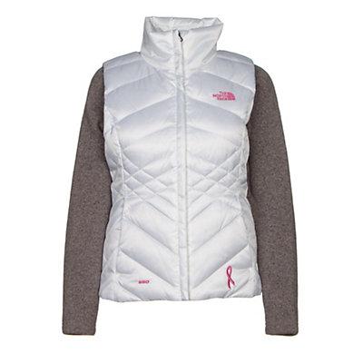 The North Face PR Aconcagua Vest Womens Vest, TNF Black-Meadow Pink, viewer