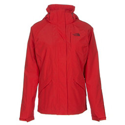 The North Face Boundary Triclimate Womens Insulated Ski Jacket, High Risk Red, 256