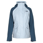 The North Face Boundary Triclimate Womens Insulated Ski Jacket, Arctic Ice Blue-Shady Blue, medium