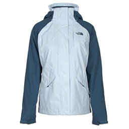 The North Face Boundary Triclimate Womens Insulated Ski Jacket, Arctic Ice Blue-Shady Blue, 256