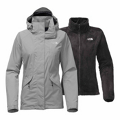 The North Face Boundary Triclimate Womens Insulated Ski Jacket, Mid Grey, medium