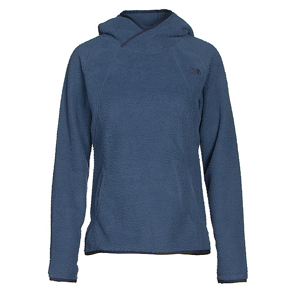 The North Face Sherpa Pullover Womens Hoodie, Shady Blue, 600