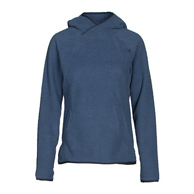 The North Face Sherpa Pullover Womens Hoodie, Shady Blue, viewer
