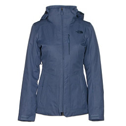 The North Face ThermoBall Snow Triclimate Parka Womens Insulated Ski Jacket, Coastal Fjord Blue, 256