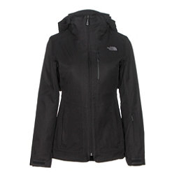 The North Face ThermoBall Snow Triclimate Parka Womens Insulated Ski Jacket, TNF Black, 256