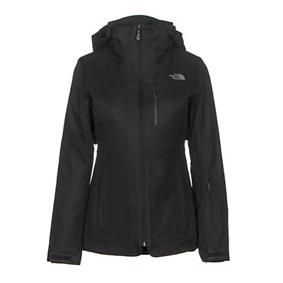 The North Face ThermoBall Snow Triclimate Parka Womens Insulated Ski Jacket, Deep Garnet Red Heather, viewer