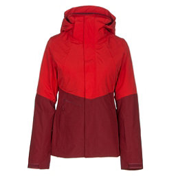 The North Face Garner Triclimate Womens Insulated Ski Jacket, High Risk Red-Biking Red, 256
