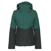 The North Face Garner Triclimate Womens Insulated Ski Jacket, Conifer Teal-Darkest Spruce, medium