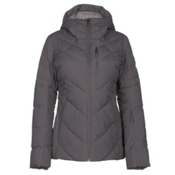The North Face Core Fire Womens Insulated Ski Jacket, Rabbit Grey, medium