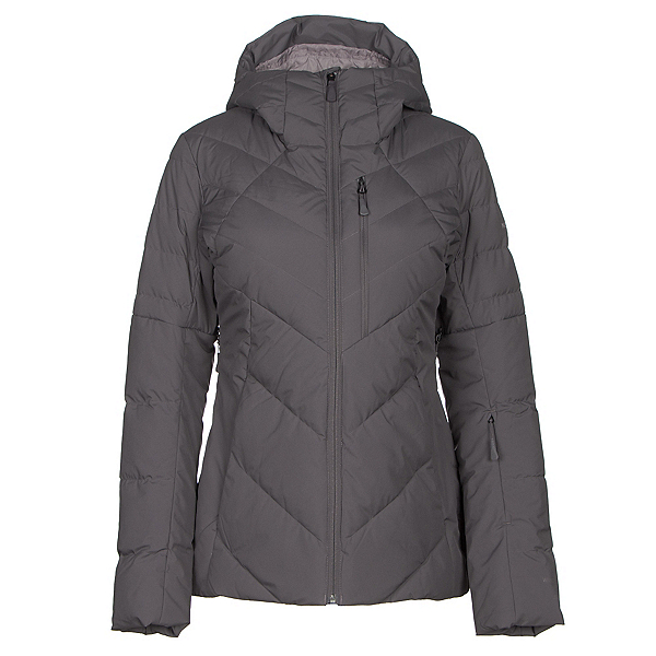 The North Face Core Fire Womens Insulated Ski Jacket, Rabbit Grey, 600