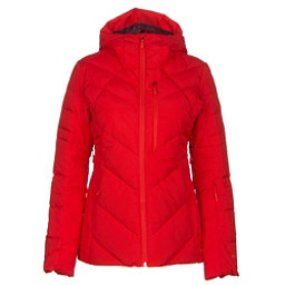 The North Face Core Fire Womens Insulated Ski Jacket, High Risk Red, 256