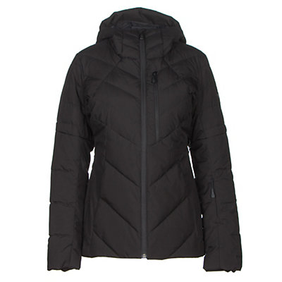 The North Face Core Fire Womens Insulated Ski Jacket, TNF Black, viewer