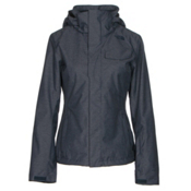 The North Face Helata Triclimate Womens Insulated Ski Jacket, Urban Navy, medium