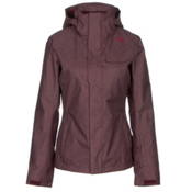 The North Face Helata Triclimate Womens Insulated Ski Jacket, Deep Garnet Red, medium