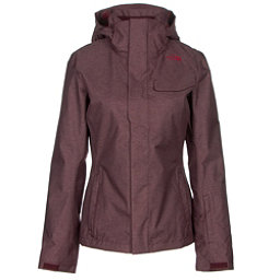 The North Face Helata Triclimate Womens Insulated Ski Jacket, Deep Garnet Red, 256