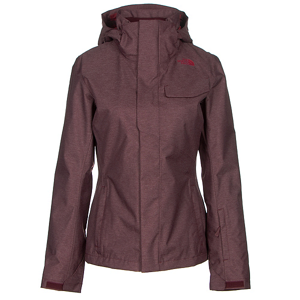 The North Face Helata Triclimate Womens Insulated Ski Jacket, Deep Garnet Red, 600