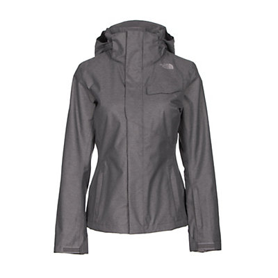 The North Face Helata Triclimate Womens Insulated Ski Jacket, Rabbit Grey, viewer