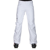 The North Face Freedom LRBC Insulated Womens Ski Pants, TNF White, medium