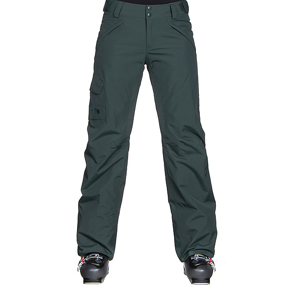 The North Face Freedom LRBC Insulated Womens Ski Pants (Previous Season), Darkest Spruce, 600