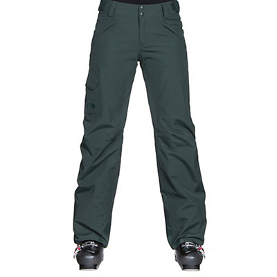 The North Face Freedom LRBC Insulated Womens Ski Pants, TNF White, viewer
