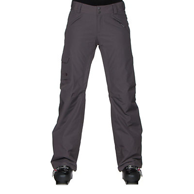 The North Face Freedom LRBC Insulated Short Womens Ski Pants, Rabbit Grey, viewer