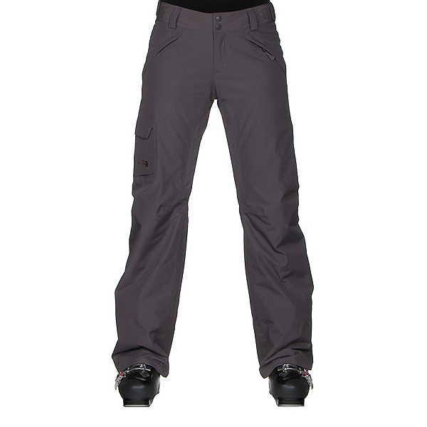The North Face Freedom LRBC Insulated Short Womens Ski Pants, Rabbit Grey, 600