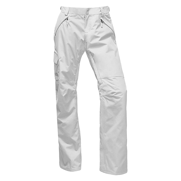 The North Face Freedom LRBC Insulated Long Womens Ski Pants, TNF White, 600