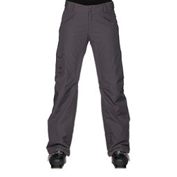 The North Face Freedom LRBC Insulated Long Womens Ski Pants, Rabbit Grey, 256