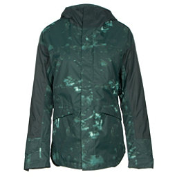 The North Face Crosstown Womens Insulated Ski Jacket, Darkest Spruce Jungle Camo Pri, 256