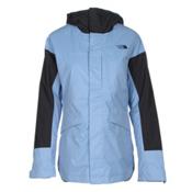 The North Face Crosstown Womens Insulated Ski Jacket, Grapemist Blue-TNF Black, medium