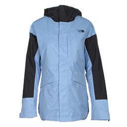 The North Face Crosstown Womens Insulated Ski Jacket, Grapemist Blue-TNF Black, 256