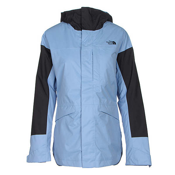 The North Face Crosstown Womens Insulated Ski Jacket, Grapemist Blue-TNF Black, 600