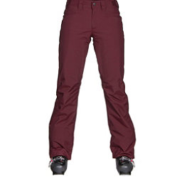 The North Face Aboutaday Womens Ski Pants, Deep Garnet Red, 256